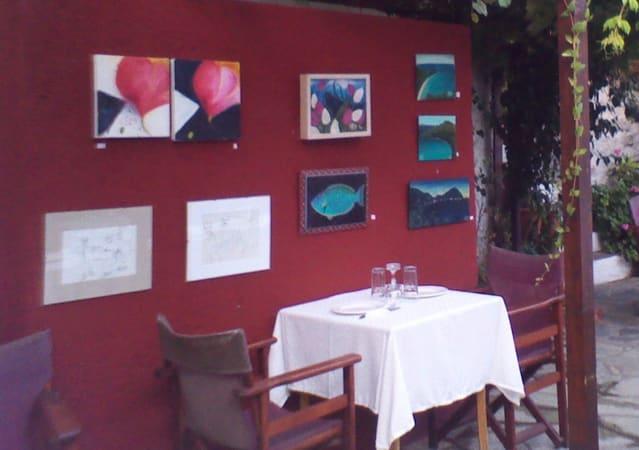 Anna's Restaurant in Skopelos Town