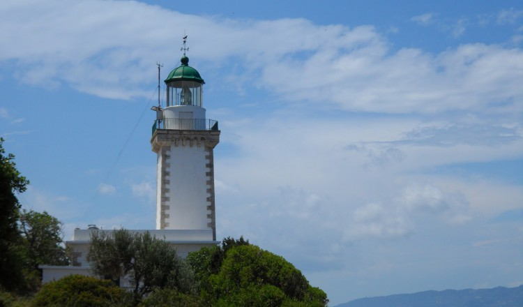 Lighthouse of Gourouni in skopelos