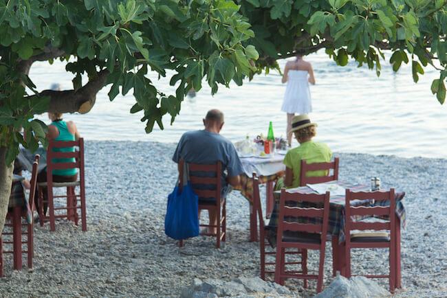 john's taverna panormos beach skopelos