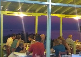John's Taverna-Panormos beach-Skopelos
