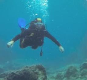 Scuba diving in Skopelos