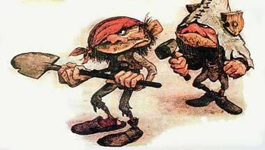 Christmas traditions in Greece - Kalikantzaroi - Greek Goblins