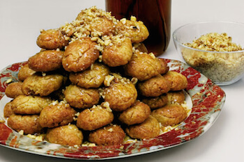 Christmas Traditional sweets in Greece - Melomakarona