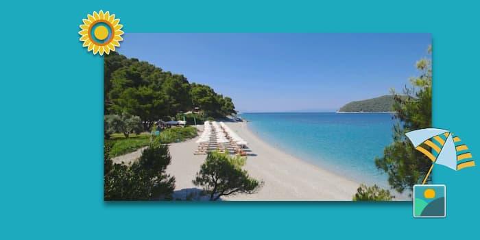 Skopelos Beaches - Kastani Beach - Part 1 of 3