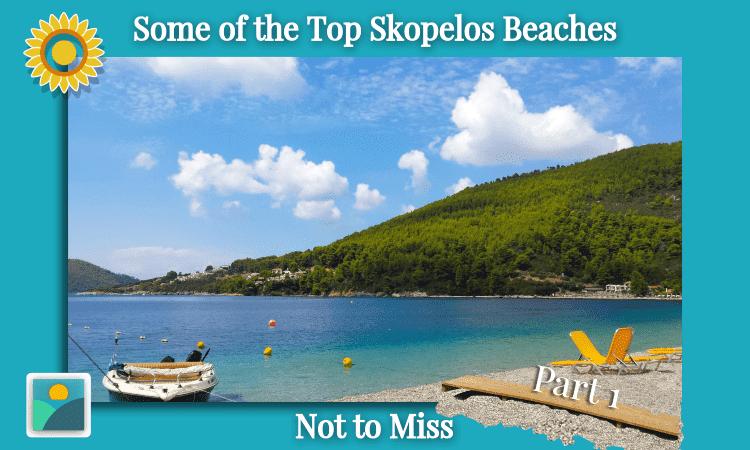 Panormos Beach on the west side of Skopelos - Best Beaches of Skopelos