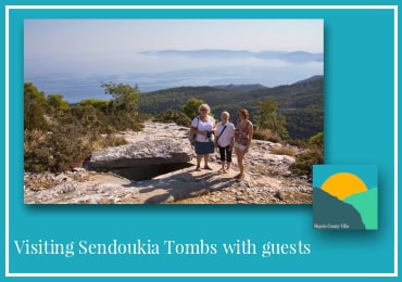 Day 5 of 7 Day Itinerary of Skopelos-Visiting Sendoukia Graves