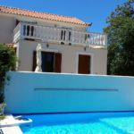 Country Villa Delfi Pool side