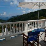 Country Villa Delfi bedroom veranda
